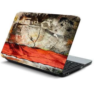 Grunge texture laptop skin