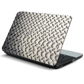 Blue red texture laptop skin