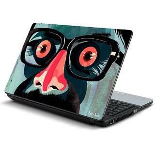 Artistic laptop skin