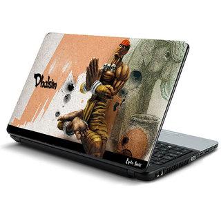 Street fighter laptop skin