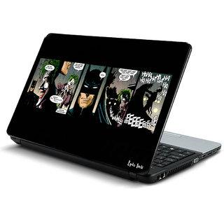 Batman comic strip laptop skin