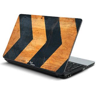 Metal texture laptop skin