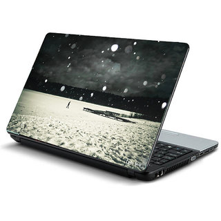 Snowy dream laptop skin