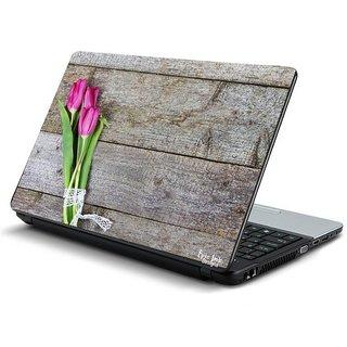Wooden texture laptop skin