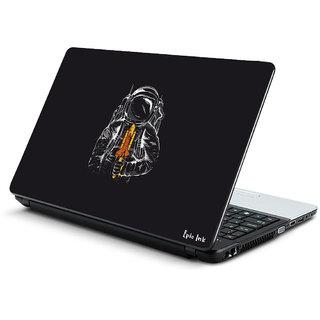 Space man laptop skin