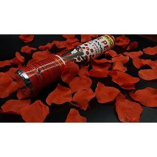 Rose Petal Party Popper for Party,Birthday,Festival,Wedding,Office Party and especially for valentine day (set of 4 pis