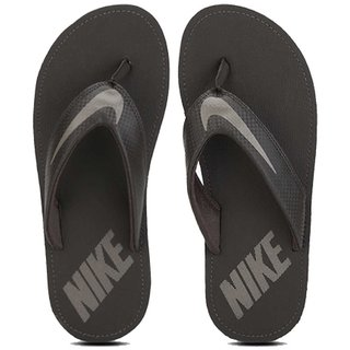Nike Chroma IV Black Thong Flip Flops Slippers