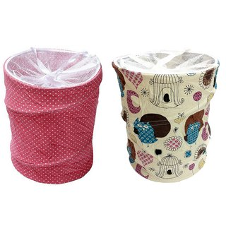 Laundry Bag Combo Pack of 2