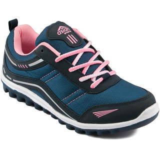 Asian Butterfly-21 Navy Running Shoes