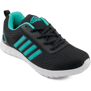 Asian Butterfly-13 Black Running Shoes