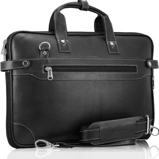 POLLSTAR Urban Edge 100 Genuine Leather Messenger Bag (MB9999BK)