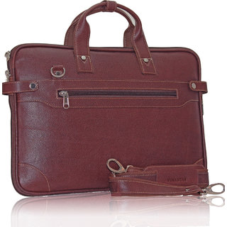 POLLSTAR Urban Edge 100 Genuine Leather Messenger Bag (MB9999BN)