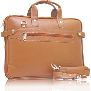 POLLTAR Urban Edge Genuine Leather Messenger Bag (MB9999TN)