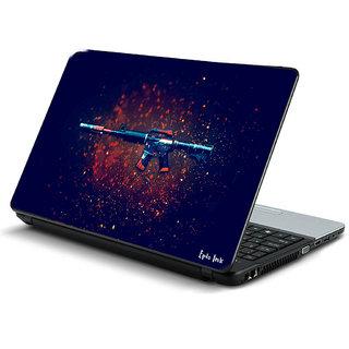 gun laptop skin