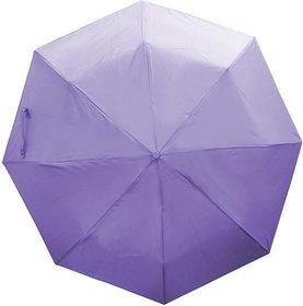 Meet Umbrella - Polyester 2 Fold, Violet , 11 inch