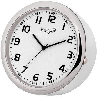 Evelyn Analog Table Clock  Car Dashboard Time Clock Quartz Watch Size 45mm EVT-05