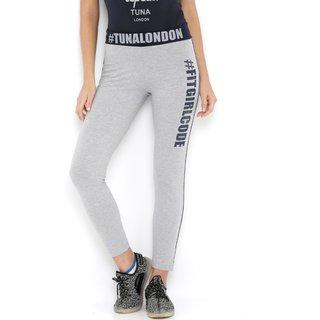 Tuna London narrow fit slim track pants for women