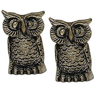 Divya Mantra Set of Two Owl Statue
