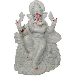 BOON White Ganpati Idol