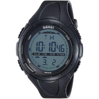 SKMEI Analog-Digital Green Dial Mens Watch-DG1025 (GENT SIZE BLK)