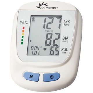 Dr. Morepen Fully Automatic Digital Blood Pressure Monitor BP-09