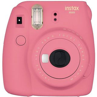 Fujifilm Mini 9 Pink Instant Camera(Pink)