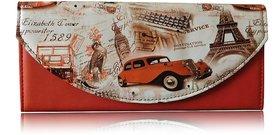 Sn Louis Red Women Wallet