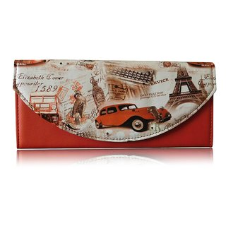 Sn Louis Red Women Wallet