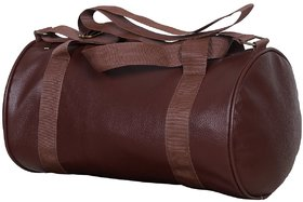 CP Bigbasket Gym Bag Brown Leather Rite Bag
