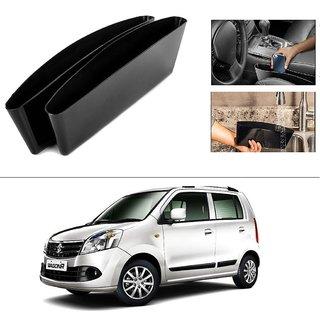 AutoStark 2 Car Seat Gap Slit Pocket Storage Catch Catcher Box Organizer Holder Box For Maruti Suzuki Wagon R