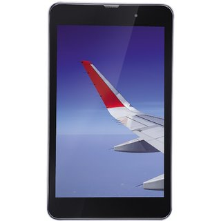 iBall Slide Wings 4GP (8 Inch Display, 16 GB, Wi-Fi + 4G Calling, Silver Chrome)