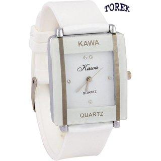 Ng NEW Kawa AO-08 White Analog Watch - For Women