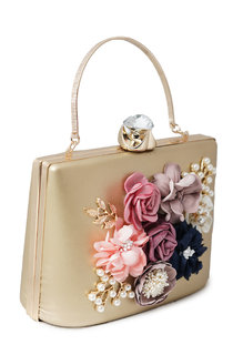 Beauty Queen golden Clutch