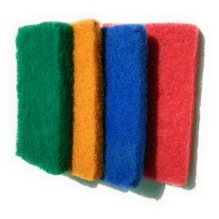 Scrub pad large,vessels cleaning so good color,use tiles wash also,bathroom clean,tub clean,basin clean,washing tub ,