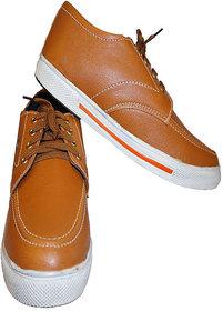 Stylish Men's Casual Shoes Brown Colour