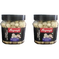 Bagrry's Makhana, Classic Salt  Pepper 100g (Pack Of 2)