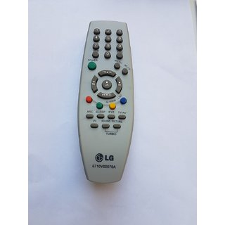 LG CRT TV Remote (6710V00079A) compatible(Please Match The Image With Your Old Remote)