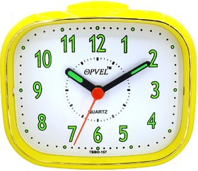 Opvel Yellow Table Alarm Clock