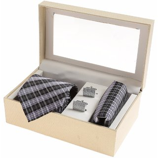 Sir Michele Designer Men's Multicolor Silk Casual Broad Ties