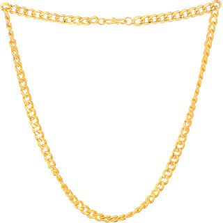 Sparkling Jewellery Gold Plated 22inch Fashion chain