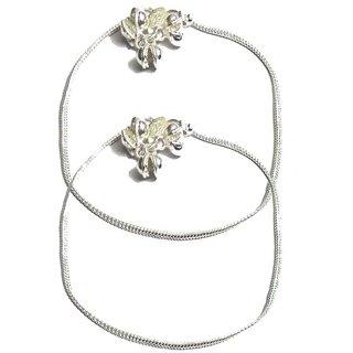 Beadworks Ethnic Metal Anklet-15