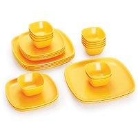 Cello Ware Set Square (24 Pcs) Yellow