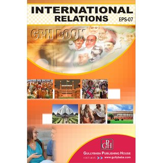 EPS07 International Relations (IGNOU Help book for EPS-07 in English Medium)