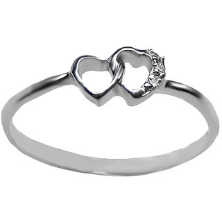 Azira Jewels Heart Engima Ring