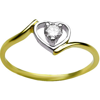 Azira Jewels Une Heart Ring