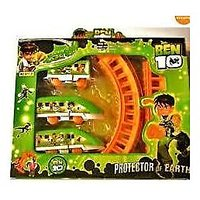 Ben 10 Train Set Track Set Battery Operated Toy Train Gift For Kids