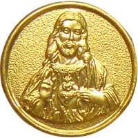 Buy Jesus Gold Coin Of 0.250mg & Get 0.300mg Jesus Silver Coin Free
