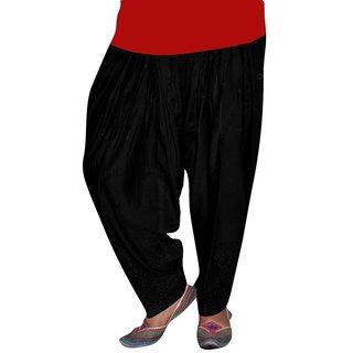 Bansal Collection Black Half Chiken Patiala Salwar BC-043
