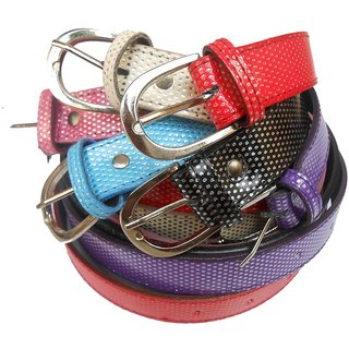 Gci Casual Stylish Women/Ladies Multi Dot Bl-004 Com Belts Exclusive Design