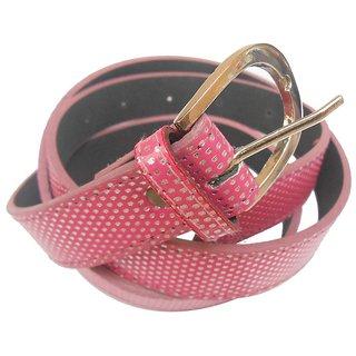 Gci Casual Stylish Women/Ladies Multi Dot Bl-004 Pink Belts Exclusive Design